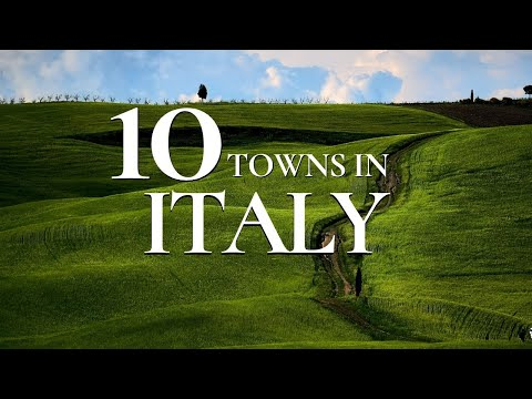 10 Beautiful Towns to Visit in Italy 🇮🇹   | Must See Italian Towns !