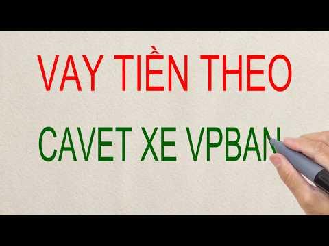 Vay Theo  Cavet Xe VPBank - Vay Tiền Nhanh Tại TP HCM