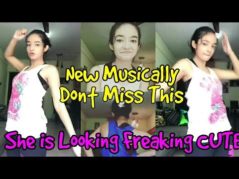 Anushka Sen All New Musicallys    Anushka Sen Cute Dance Must Watch