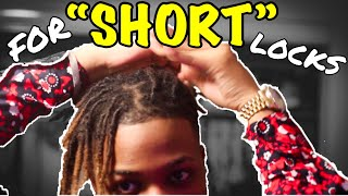 How to style Dreads! | 3 Easy Styles
