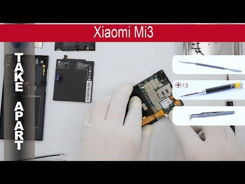 How to disassemble 📱 Xiaomi Mi3, Take Apart, Tutorial