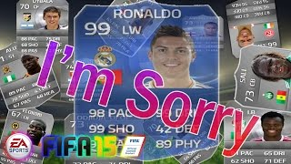 FIFA15 - เก็บแต้มสบายๆสไตล์ Seedling #เราจะไม่ทิ้งนายไปไหนอีก TOTY Ronaldo !!!!!