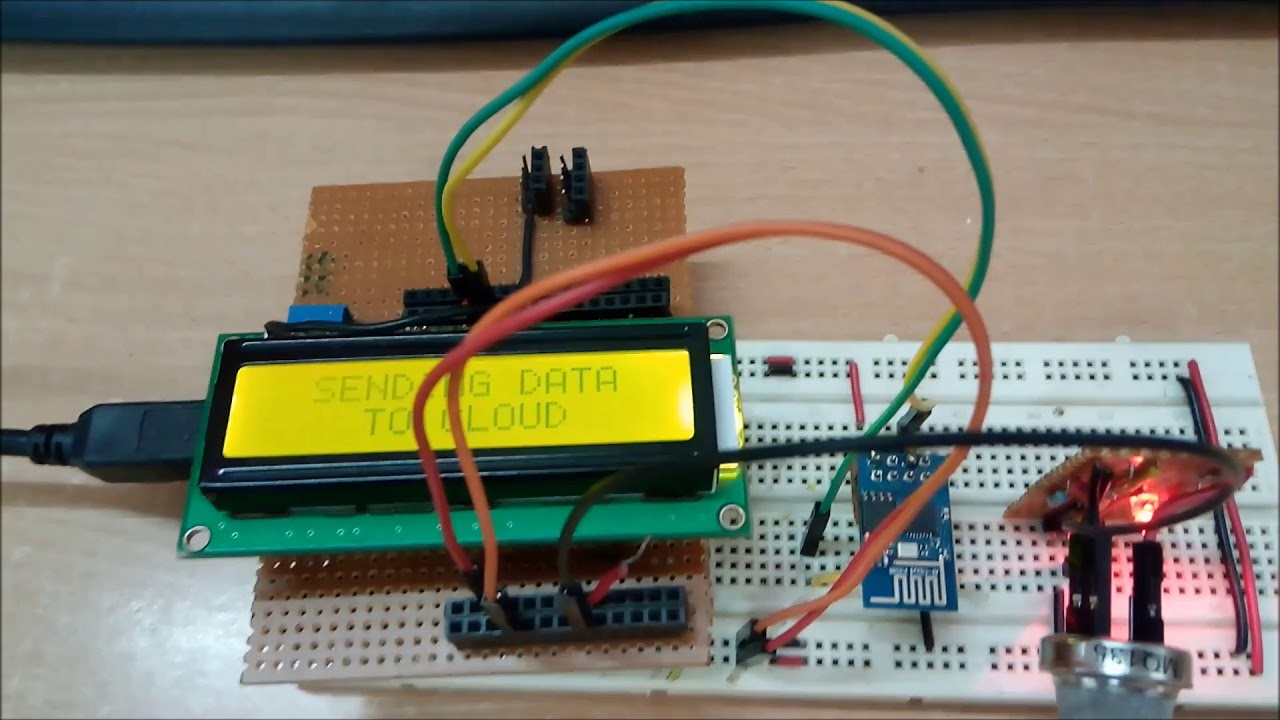 Arduino Based Air Quality Monitoring IOT Project | EngineersGarage