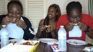"""BLAZIN"""" BUFFALO WILD WINGS CHALLENGE!!   EXTREMELY HILARIOUS!!"""