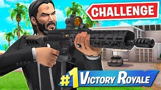 THE JOHN WICK HOUSE ONLY CHALLENGE