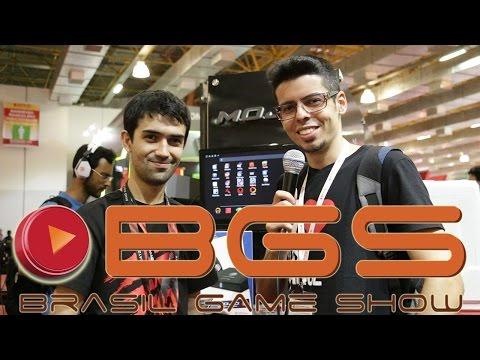 BGS 2014 - Estande Mad Catz - Micro Console M.O.J.O. - CJBr