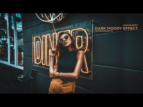 Photoshop Tutorial : Dark Moody & Brown Effects in Photoshop CC By Massive Editz thumbnail
