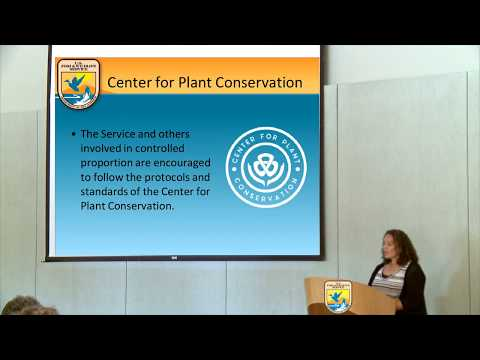 SePPCon 2016  - #3 - Ex-situ Safeguarding – Seed Banking & Conservation