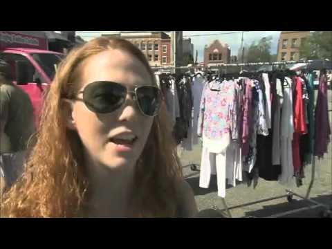 WQED Interns interview Pittsburgh Fashion Truck owners