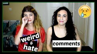 Διαβάζουμε τα Hate Comments || fraoules22