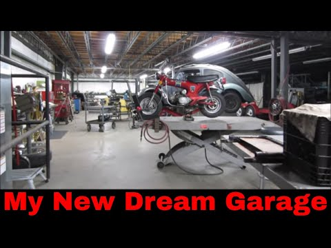 My New YouTube Garage/Shop Tour.