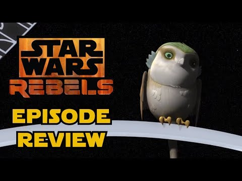 Star Wars Rebels Season 4 - Wolves and a Door & A World Between Worlds Episode Reviews