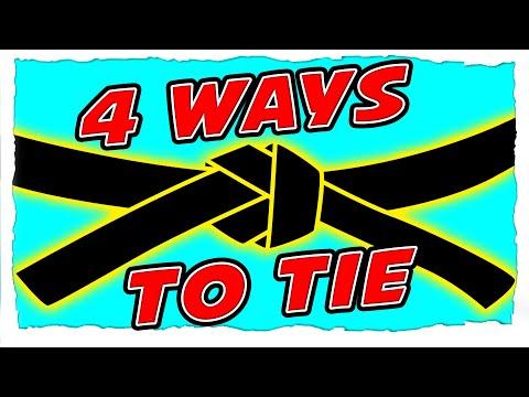 How To Tie A Karate Belt | 4 Different Ways To Tie A Karate Belt