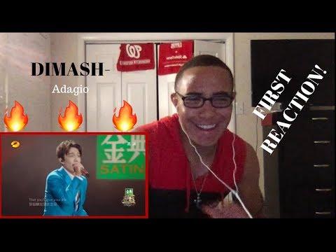 Dimash - Adagio - FIRST REACTION!!!!