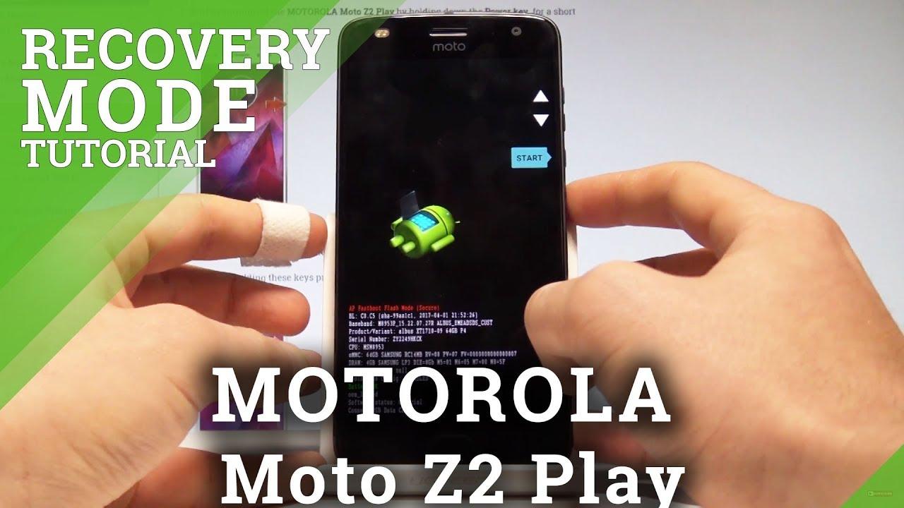 Recovery Mode MOTOROLA Moto Z2 Play - HardReset info