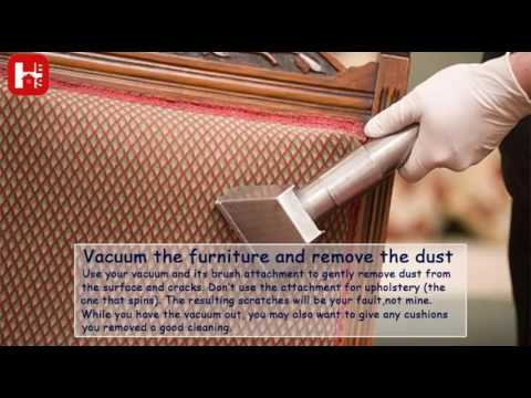 How To Clean Wooden Furniture!!