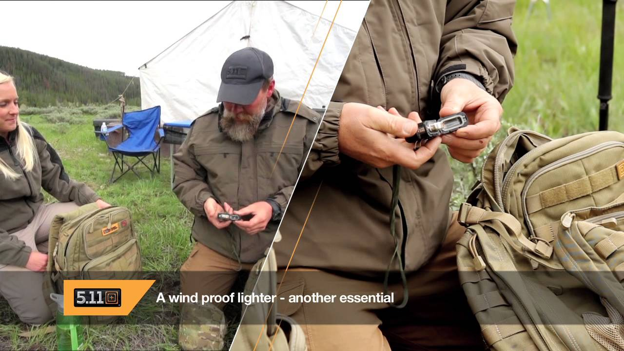 5.11 Outdoors, part 1: Gear Check