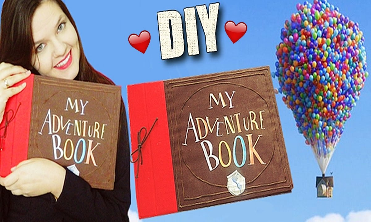 how to make an adventure book like up