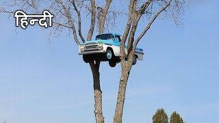 यह कैसे हुआ  ? 😱😱 जानकर हैरान हो जाओगे | Truck stuck in tree mystery in Hindi