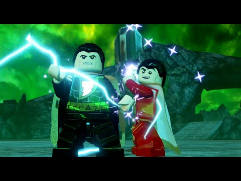 LEGO Batman 3: Beyond Gotham - Black Adam Gameplay and ...