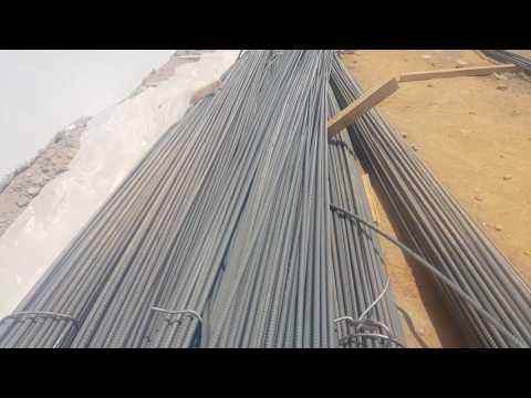 Steel bars and it's different sizes and it uses by Salim Al Barwani