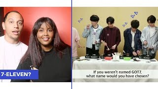 GOT7 Makes Childhood Candy While Answering Fan Questions REACTION (GOT7 REACTION)