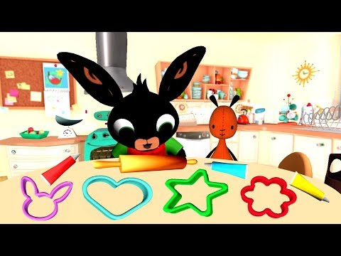 Bing Baking Play and Decorate Colorful Cakes - Fun Children Cooking Kitchen Games