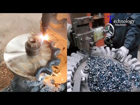 The Manufacturing Process Inside Mechanical Fabrication Factory You Should See, Fastest Worker 2020