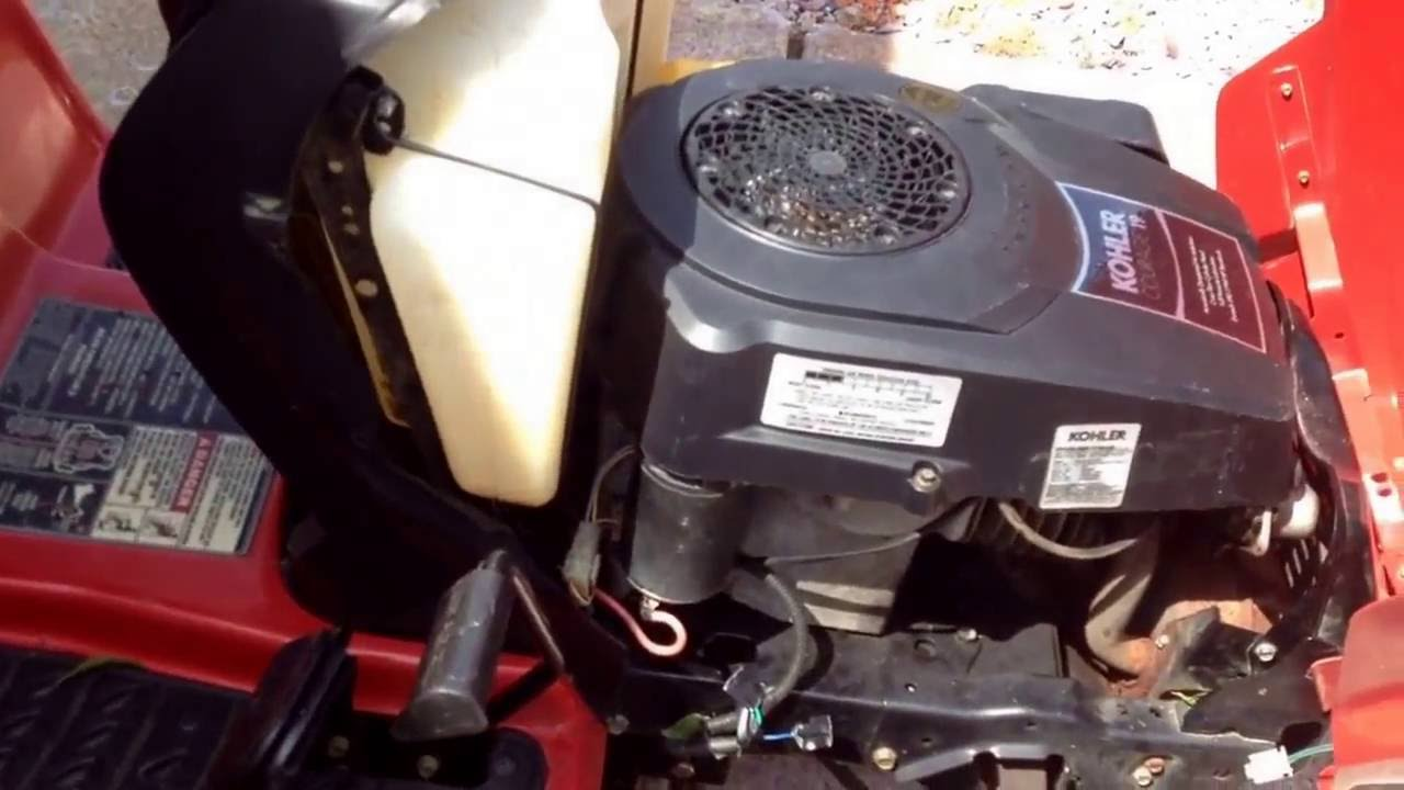 medium resolution of troy bilt riding mower won t start