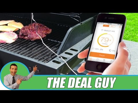 🍖 Bluetooth Steak Thermometer ◄ Grill meat like a PRO!