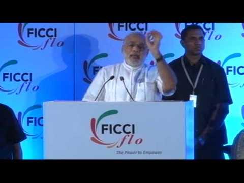 Shri Narendra Modi addresses FICCI Ladies Organization, Delhi