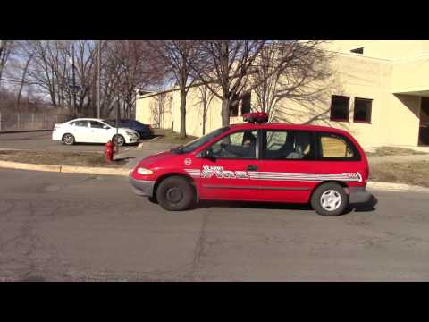 Kearny Fire Department Super Rare Car-64 Responding