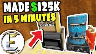 MADE $125k IN 5 MINUTES - Gmod DarkRP (Fastest Way To Make Money! Hit Jackpot On Arcade Machines)