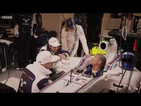 BBC F1 2014: David Coulthard Drives Williams FW36