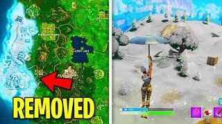 EVERY Location Added and Removed from Fortnite (Secret Locations You Never Knew)