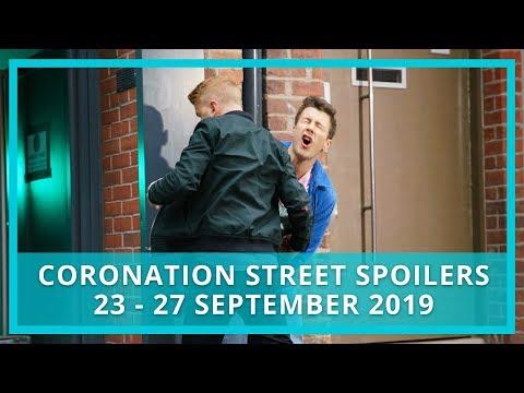 Coronation Street (Corrie) spoilers: 23-27 September 2019