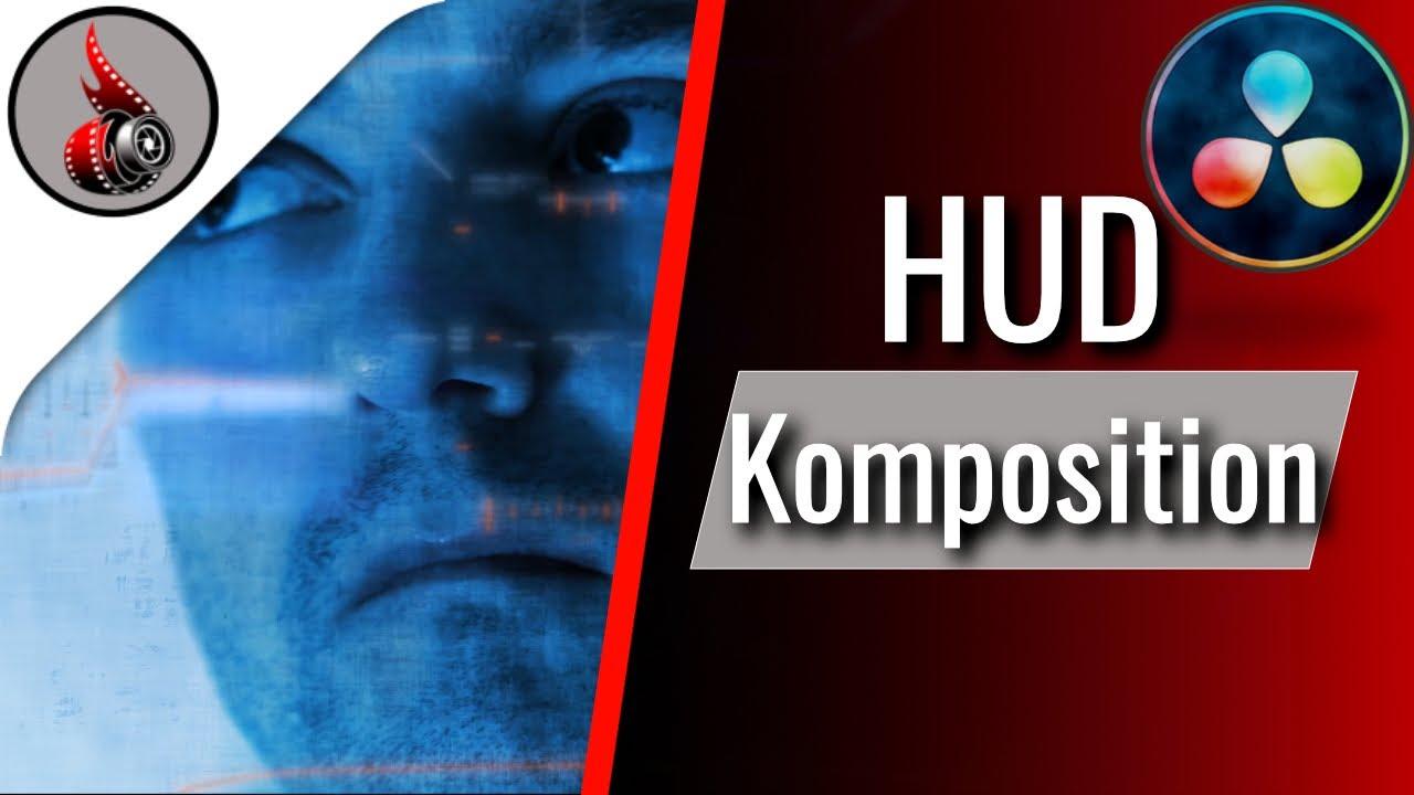 DaVinci Resolve HUD-Komposition 🚀 Kai voll abgedreht im Weltraum