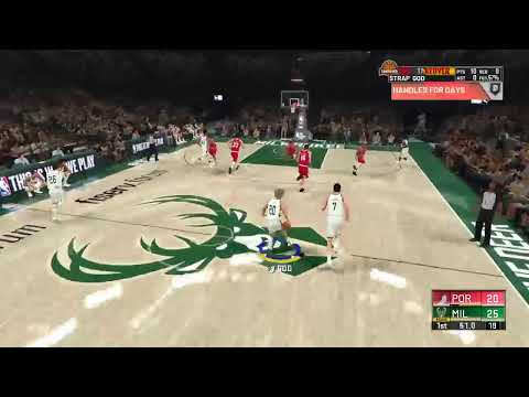 NBA2K20 grinding for badges in mycareer on my playmaking shot creator