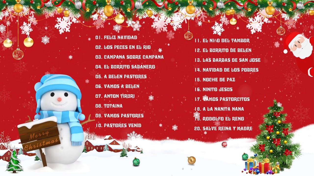 Música de Navidad 2020⭐🎄 Las 30 Mejores Éxitos de Navideñas En Español🎅 Feliz Navidad 2021