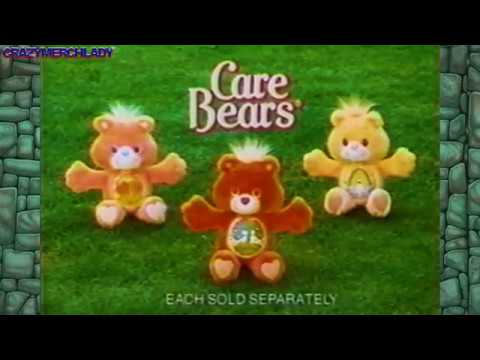 Care Bears: Love-a-Lot Bear, Cheer Bear & Friend Bear - english
