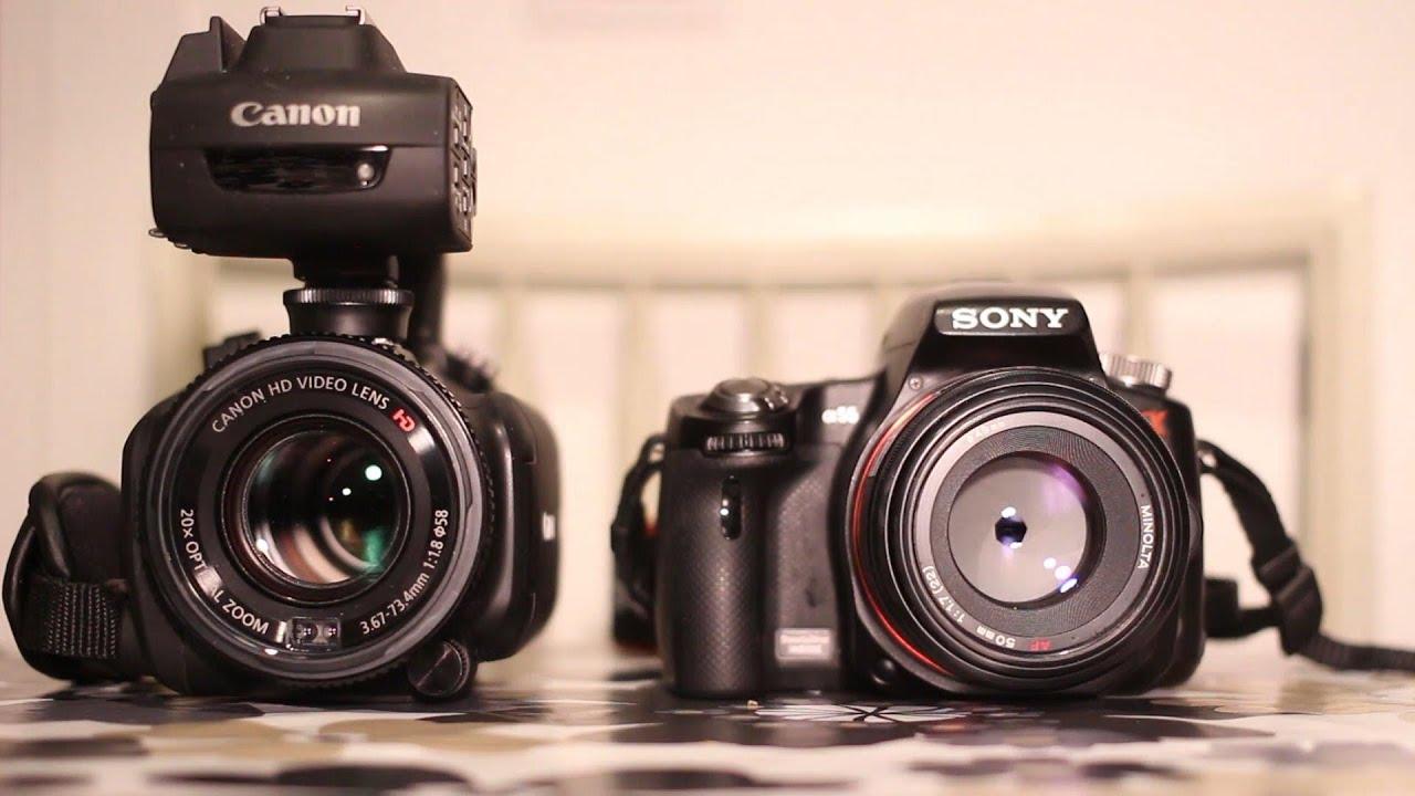Camera Slt Camera Vs Dslr semi professional vs slt camera in dark light youtube light