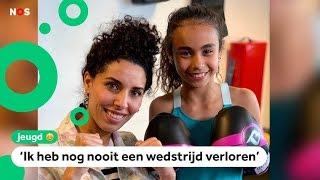 Bokstalent Amira (10) tekent contract bij groot sportmerk 🥊