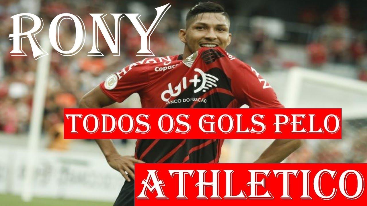 Rony Todos Os Gols Pelo Athletico Paranaense Youtube