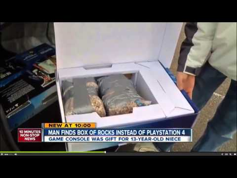 Walmart Sells Denver Man A Playstation 4 Box Full Of Rocks Full Story HD