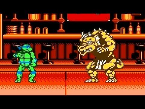 Teenage Mutant Ninja Turtles Tournament Fighters Walkthrough/Gameplay [NES] HD 1080p 60fps - 동영상