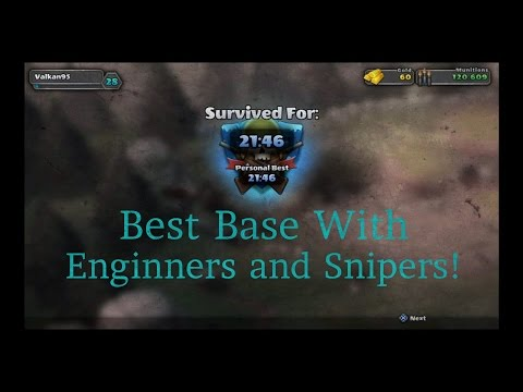 Guns Up! New and Best Engineer and Sniper Base! Time - 21:46!