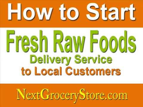 fresh foods delivery service business plan template youtube