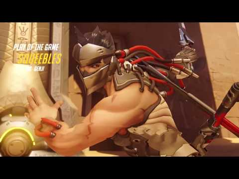 Genji - Temple of Anubis - Mystery Heroes - Play of the Game - 5K
