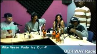 Vado & Oun-P Freestyle on OOH-WAY Radio