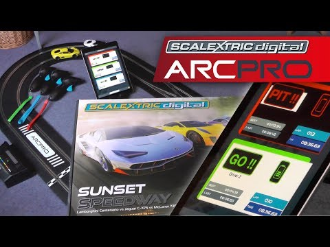 ARC PRO Scalextric Digital vs Anki vs Hot Wheels